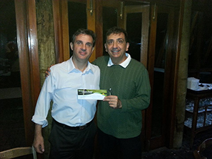 Mauro Masarin e Antonio Padula