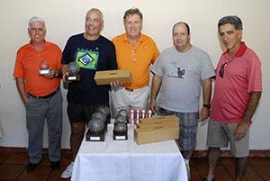 Paulo Ferraz, Gilnei Rodrigues, Tavares, Ricardo Lepace e Fernando Vieira Foto: Zeca Resendes