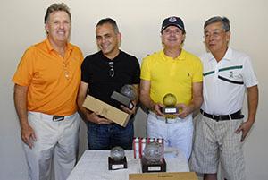 Antonio Tavares, Marcelo Silva, Laerte Gigioli e Antonio Takeo Foto: Zeca Resendes