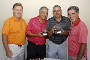 Antonio Tavares, Fred Nassel, Alexandre Santos e Fernando Vieira Foto: Zeca Resendes