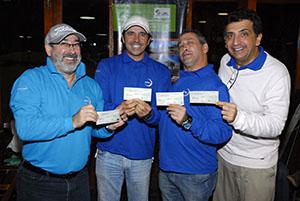 Ganhadores do voucher do Andiamo Foto: Zeca Resendes