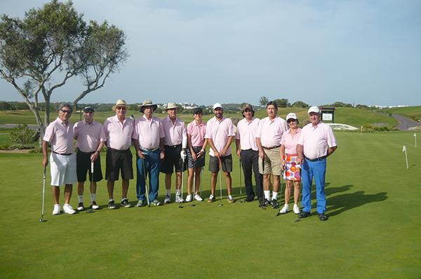 Golfistas no Victoria Golf Course