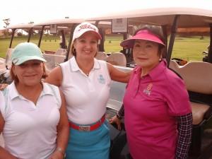 Malu, Cleide e Margarida