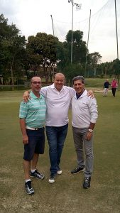 Corey Moulton, Hilton campos e Fernando Vieira